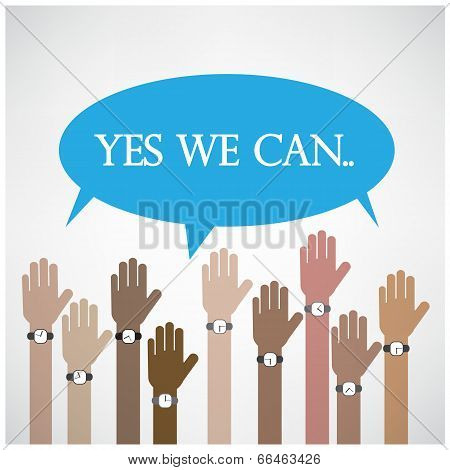Yes We Can Concept