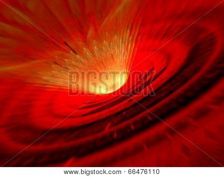 Meteor Impact Shockwave