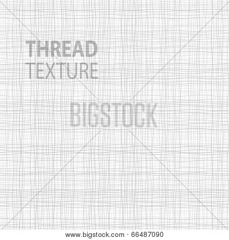 poster of Light Thread fabric texture, vector illustration  for your design