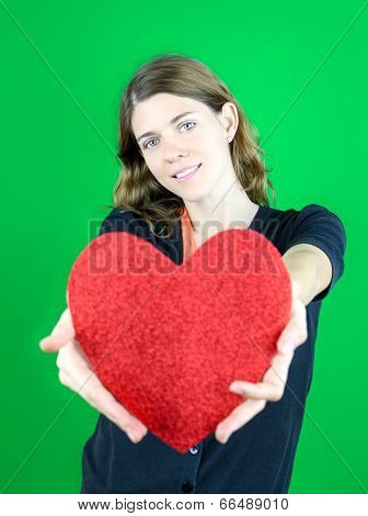 Holding A  Big Heart