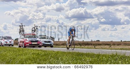 The Cyclist Rein Taaramae