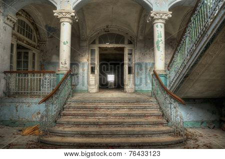 Lobby Of Health Resorts In Beelitz