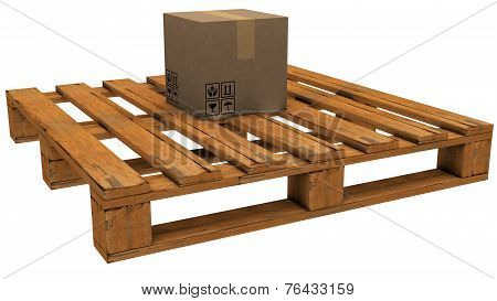 Pallet With A Box