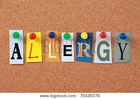 Allergy Single Word