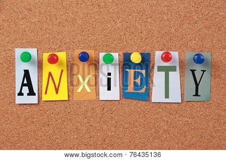 Anxiety Single Word