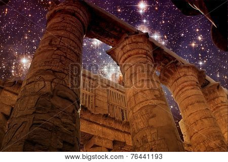 Karnak And Star Forming Region Lh95 (elements Of This Image Furn