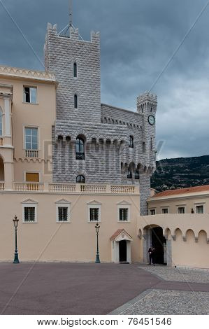 Prince's Palace In Monaco