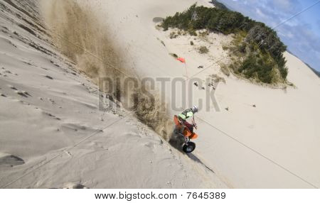Riding Hills At The Dunes