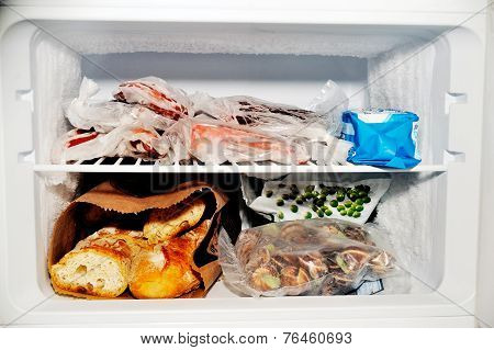 Freezer Compartment Of A Refrigerator