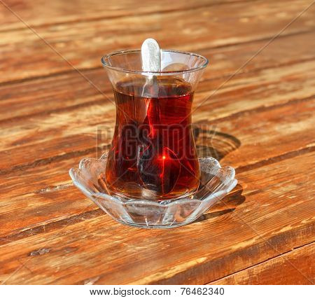 Turkish Glass Of Tea