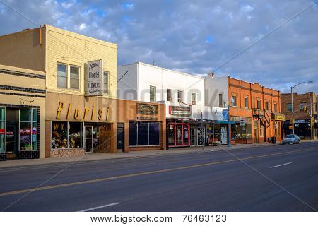Quiet Sunday morning in Laramie, WY