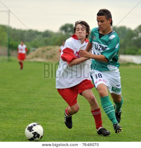 U17 soccer game