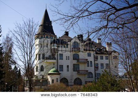 Castle in Imatra, Finland