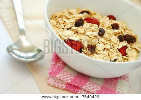 Healthy Oatmeal With Raisins And Dates