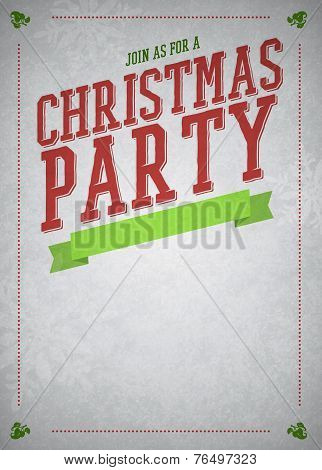 Chistmas Party Background