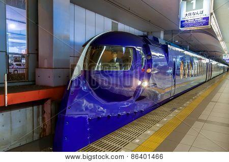 Rapi:t Train in Osaka