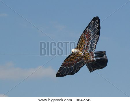 American Eagle Kite in Flight