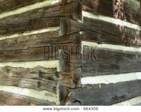 Log Cabin Corner Detail