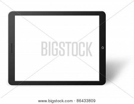 Modern Computer Tablet With Blank Screen