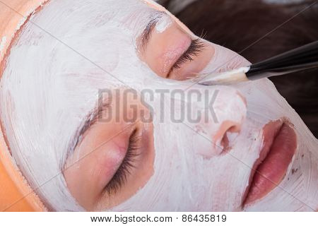 The cosmetic procedures for the face
