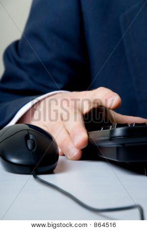 fingers onkeyboard