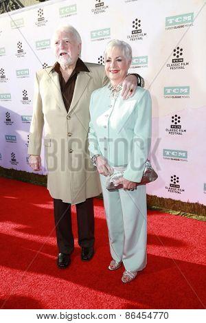 LOS ANGELES - MAR 26:  Marty Ingles, Shirley Jones at the 50th Anniversary Screening Of