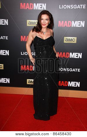 LOS ANGELES - MAR 25:  Laura Elena Harring at the Mad Men Black & Red Gala at the Dorthy Chandler Pavillion on March 25, 2015 in Los Angeles, CA