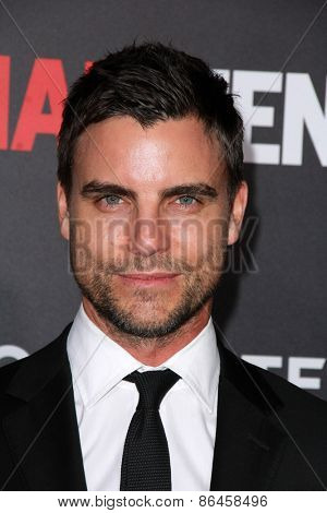 LOS ANGELES - MAR 25:  Colin Egglesfield at the Mad Men Black & Red Gala at the Dorthy Chandler Pavillion on March 25, 2015 in Los Angeles, CA