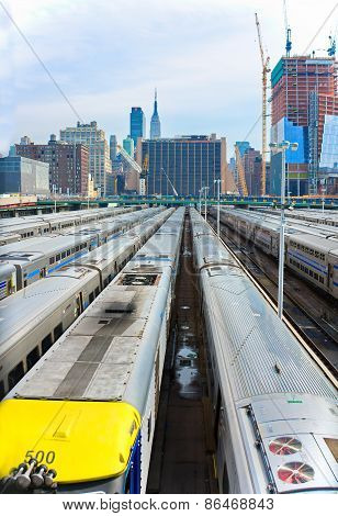New York Train Parking Facility