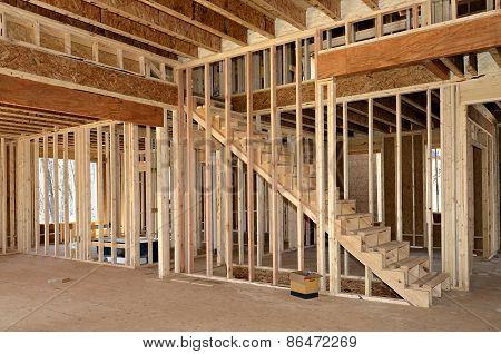 New Home Constrution Interior