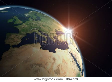Planet Earth - Europe