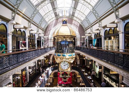 Queen Victoria Building In Sidney