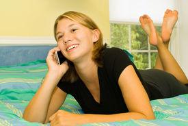 Teen Women On Phone