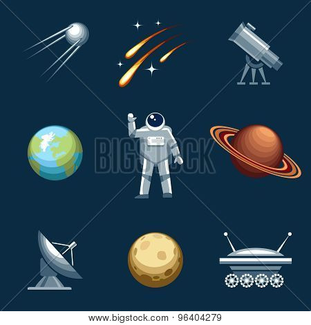 Space and astronomy set