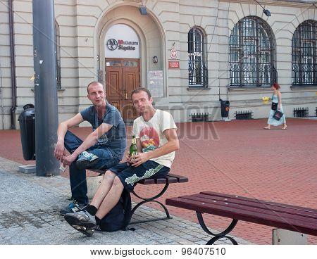 Katowice, Poland - July 19, 2015 :entrance To The Silesian Museu