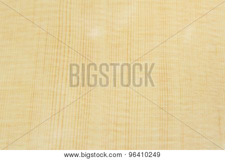 Top Wood of guitar