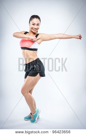 Zumba Fitness Girl