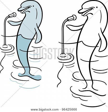 Dolphin orator