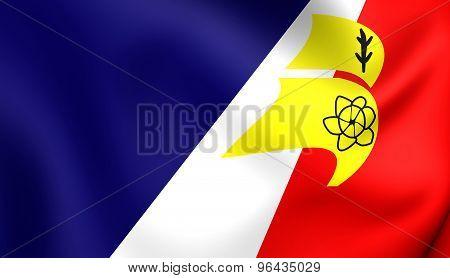 Flag Of Franco-newfoundlanders, Canada.