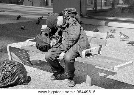 Victoria's homeless