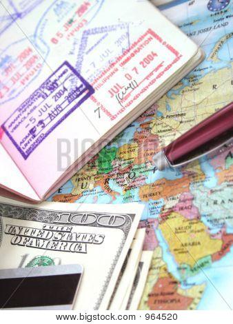 internationale Reise-Serie