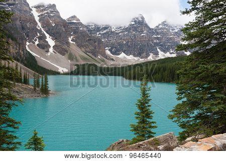 Moraine Lake - Stock Image