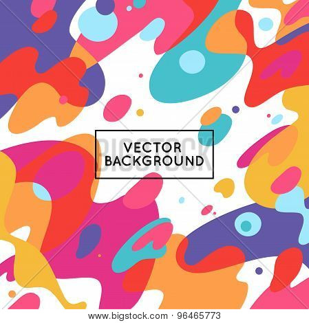 Vector Decorative Abstract Background