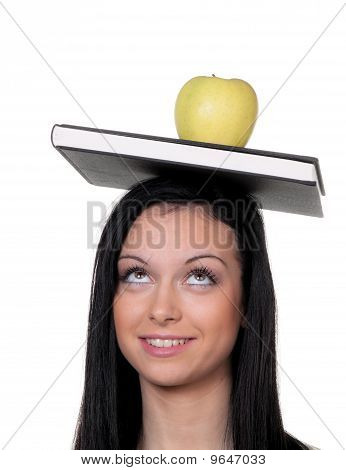 Student With An Apple And When To Learn