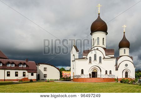 Church In Honor Of Protection Of Mother Of God And In Name Of Saint Nicholas (pokrovo- Nicholas Chur