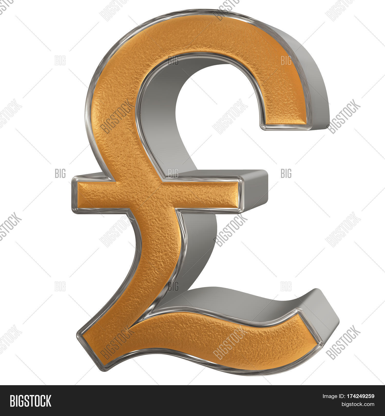 Symbol British Pound Image Photo Free Trial Bigstock
