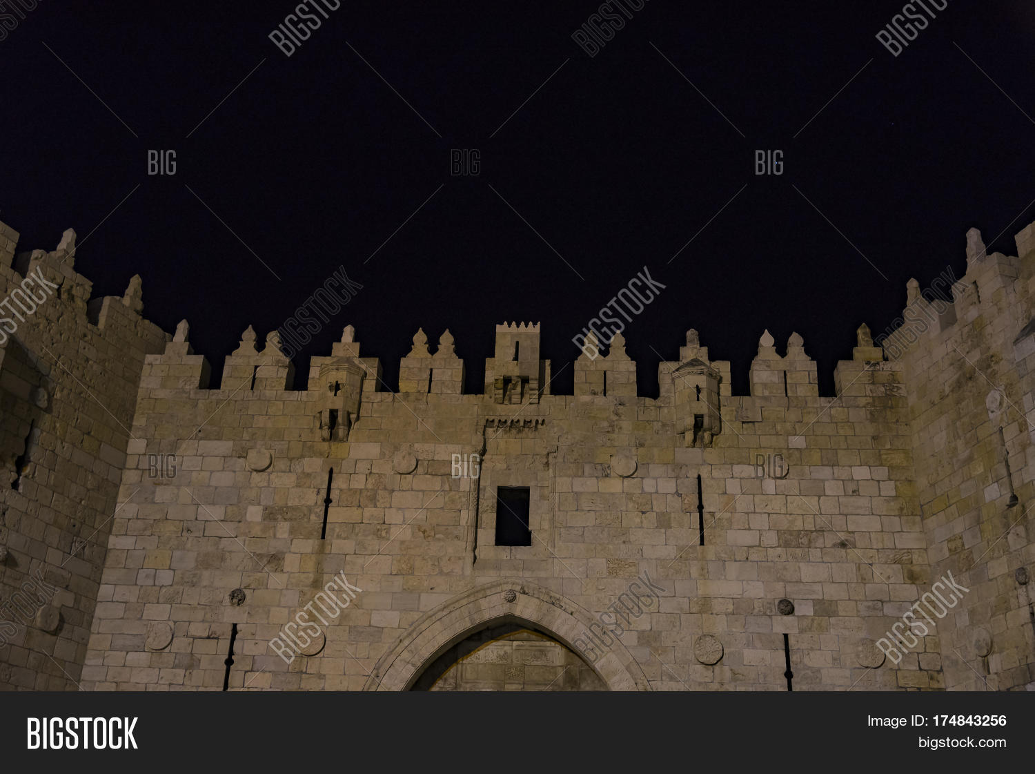 Damascus Gate Old City Image & Photo (Free Trial) | Bigstock