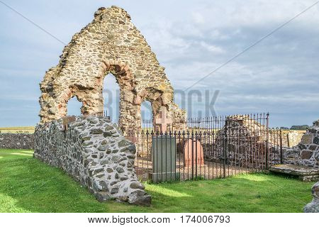 Rattray Church Ruin by Aberdeenshire in Scotland