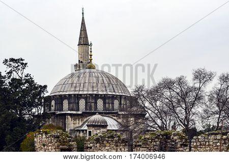 The Sokollu Mehmet Pasha Mosque (Turkish: Sokullu Mehmet Pasa Camii) is an Ottoman mosque located in the Kadirga neighborhood of the Fatih district of Istanbul Turkey. Sokullu Mehmet Pasha Complex in Kadirga Construction completed in 1572.
