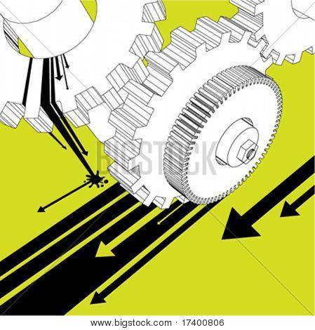 mechanic illustration vector